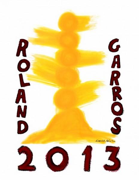 Roland Garros 2013 : l'affiche fait (encore) réagir > Creanum