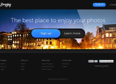 Dropbox s'offre l'outil de stockage de photos Snapjoy > Creanum