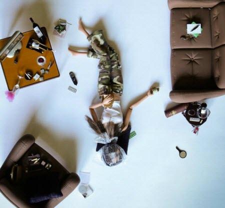 Photographies : les différentes vies de Barbie > Creanum
