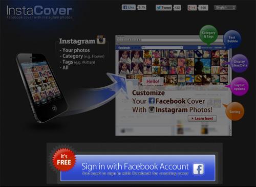 Personnalisez votre mur Facebook avec vos photos Instagram > Creanum