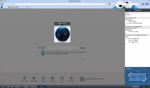 Des fonctions responsive web design dans le prochain Firefox > Creanum