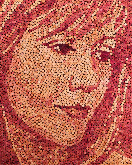 Des portraits en bouchons de liège > Creanum