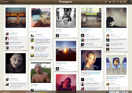 Pinstagram : naviguez sur Instagram comme sur Pinterest > Creanum