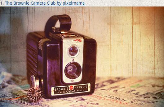 Des appareils photo en photos > Creanum