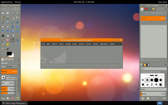 Gimp disponible en version 2.8 > Creanum