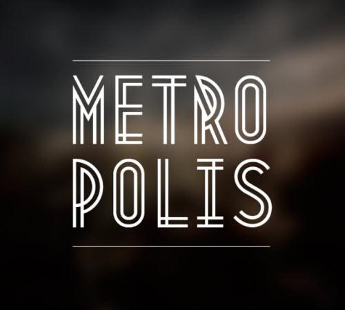 Typographie gratuite : Metropolis 1920 > Creanum