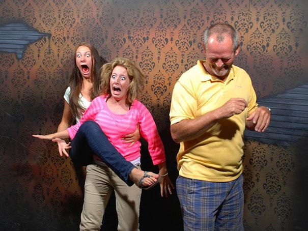 Maison hantée : des gens terrifiés !  > Creanum