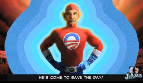 Animation : « He's Barack Obama » !  > Creanum