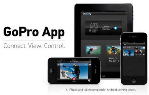 Des applications GoPro pour Android et iOS > Creanum