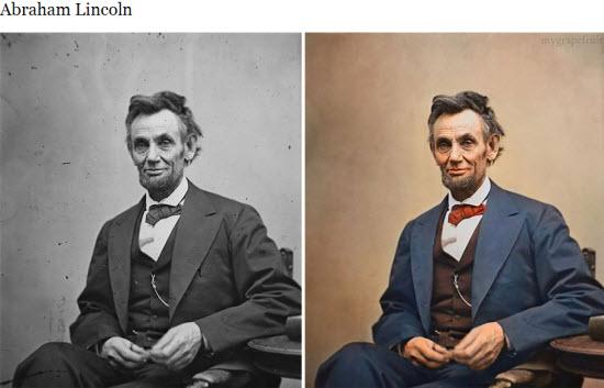 Des célèbres photos anciennes retravaillées en couleurs > Creanum