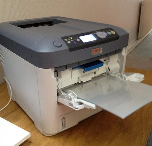 Oki présente des imprimantes à toner? blanc ! > Creanum