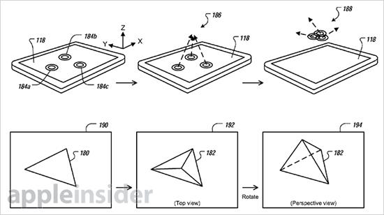 Apple dépose un brevet sur un système d'interface en 3D > Creanum
