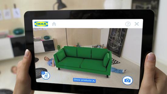 Ikea : la réalité augmentée au service du mobilier > Creanum