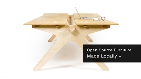 Meubles Open Source: libérez les bureaux  > Creanum