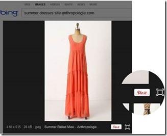 Microsoft Bing ajoute le partage d'images sur Pinterest  > Creanum
