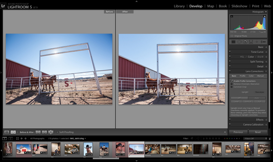 Post-production photo : Adobe Lightroom 5 se dévoile enfin ! > Creanum