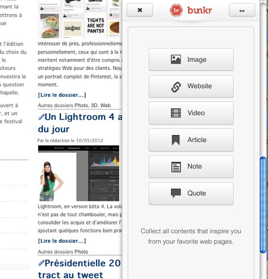 Bunkr.me : un éditeur de présentations 2.0 et HTML5  > Creanum