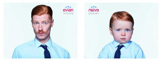 Crise d'inspiration chez les publicitaires d'Evian? > Creanum