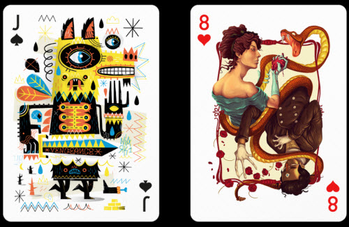 Playing Arts : un jeu de cartes par 54 artistes > Creanum