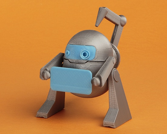 Découvrir l'impression 3D grâce à un livre pour enfant > Creanum