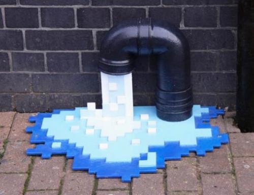#8BITLANE : une rue de Londres pixelisée !  > Creanum
