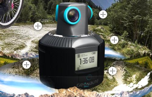 La caméra Geonaute 360 filme à? 360 degrés ! > Creanum