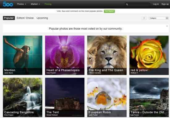 Apple retire deux applications 500px de l'AppStore > Creanum