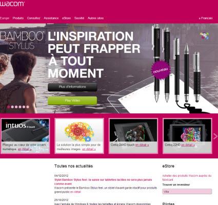 Samsung prend une participation dans Wacom > Creanum