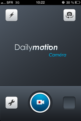 Caméra : l'application de DailyMotion pour concurrencer Vine > Creanum