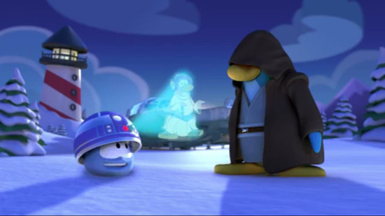 Disney décline l'univers Star Wars chez les manchots ! > Creanum