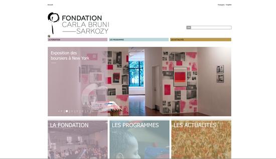 Le site de Carla Bruni Sarkozy: 400 000 euros pour un Wordpress ! (MàJ) > Creanum