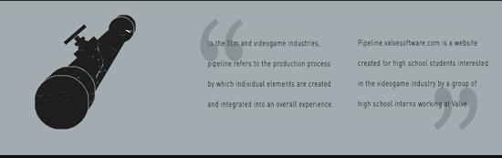 Valve lance Pipeline, un site à destination des aspirants game designers > Creanum