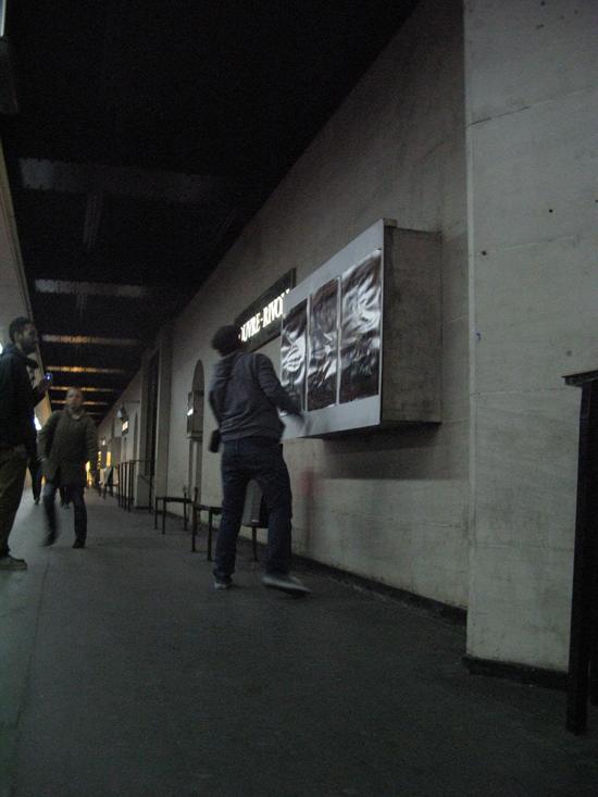 L'artiste Kai s'expose station Louvre Rivoli > Creanum