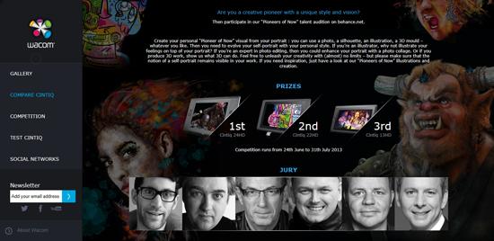 Wacomlance un concours sur l'esprit «Pioneers of Now» > Creanum