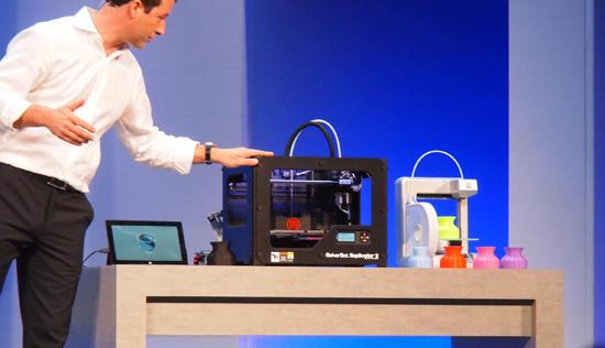 Windows 8.1 s'ouvre aux imprimantes 3D > Creanum