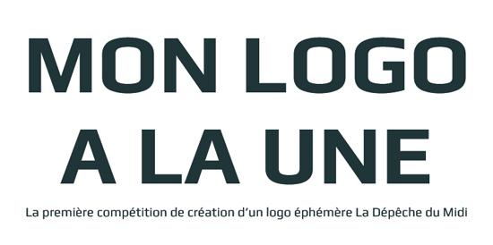 La Dépêche du Midi lance un concours de logo éphémère > Creanum