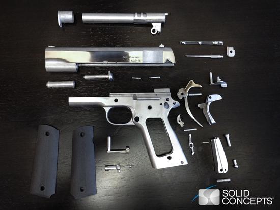 Une entreprise américaine imprime une arme en 3D et en métal ! > Creanum