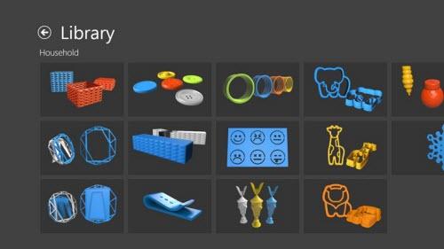 Microsoft présente 3D Builder, outil de modeling 3D > Creanum