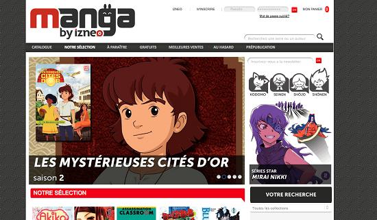 Izneo lance son offre de manga numérique en France > Creanum