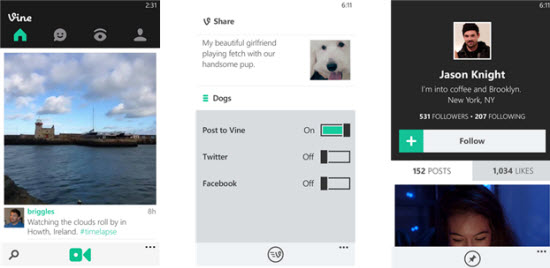 Windows Phone : Instagram, Vine et Waze arrivent !  > Creanum