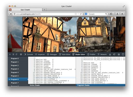 Shader Editor: un nouvel outil pour WebGL sur Firefox > Creanum
