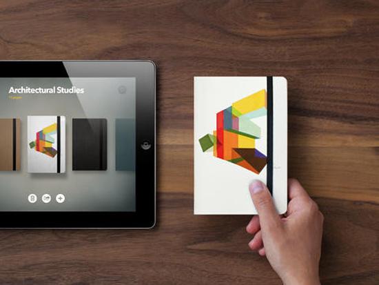 L'application pour iPad Paper  lance un partenariat avec Moleskine  > Creanum