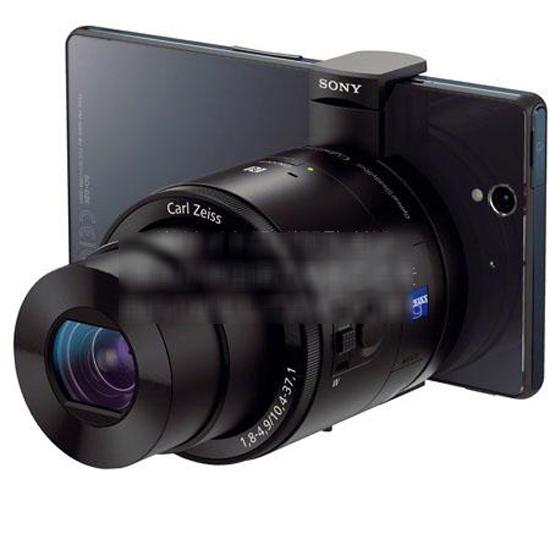 Sony QX 10 et QX 100: des objectifs indépendants pour smartphone > Creanum
