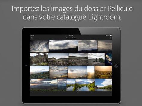 Adobe dévoile Lightroom pour iPad > Creanum