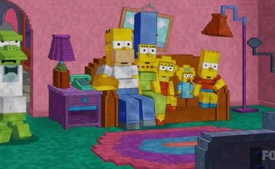Le générique des Simpsons à la sauce Minecraft > Creanum