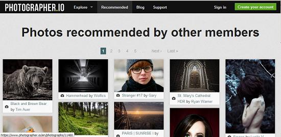 Photographer.io: un site de partage photo comme les autres? > Creanum