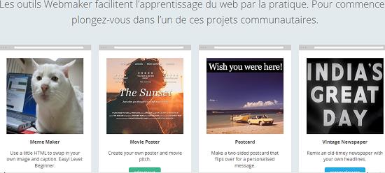 Mozilla Webmaker: Découvrir le Web avec Mozilla > Creanum