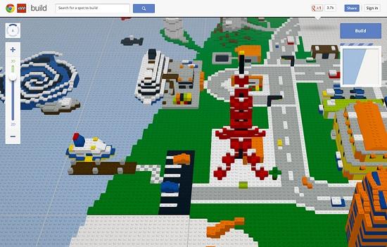 Jouez au Lego dans Google Chrome ! > Creanum