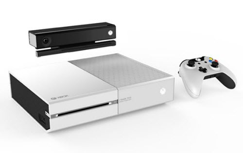 Microsoft : une Xbox One blanche sans lecteur Blu-Ray ?  > Creanum