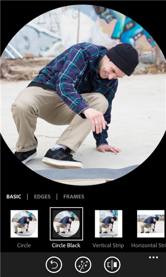Photoshop Express disponible sur Windows Phone  > Creanum